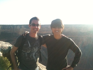 Hopi Point Solar Eclipse with Joel