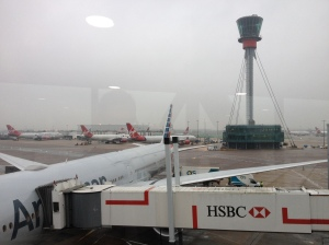London's Heathrow Airport.
