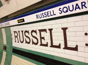 Russell Square Underground Tile.