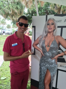 Standing up Lady Gaga at Palm Beach Pride